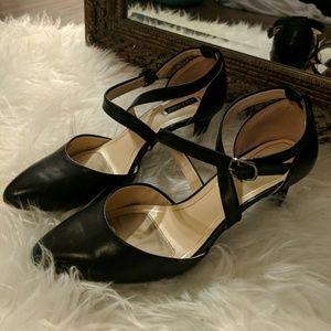Black Alex Marie heels